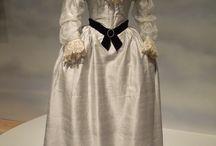 18th century Fashion victims: women's clothes