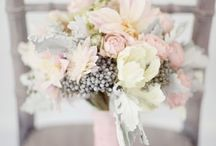 pink-grey wedding