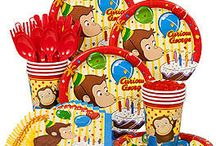 Curious George Party Ideas / Don't monkey around, get ahead on your child's birthday theme with these party ideas