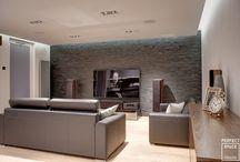 Salon / Aranżacje salonu - miejsca do towarzyskich spotkań