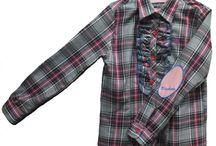 Camisa y Blusas para #niños y #niñas / Camisas infantiles para niñas y niños, #camisadecuadros #estampadas
