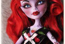Custom tattoos and dolls