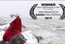 Glace, Crevasse et Dérive / Photographies du film acclamé à Montréal, à Barcelone, en France et gagnant du Best Screendance Film au San Francisco Dance Film Festival en 2014.