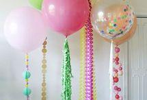 creative ideas of Balloons Decoration