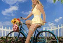 pin up vélo