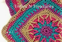 Cushions crochet