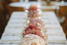 place settings - table decoration ideas