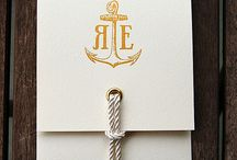 anchors / Sea, anchor, lighthouse, decorated, inspiration, scrapbooking, bookbinding