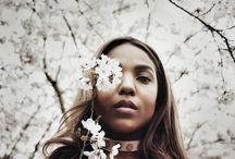 stephjill.com / BLOSSOMS BLISS / Photoshoot in Japanese Blossompark Amsterdam. Model: Cacharel Day. Photography: Stèphanie Jill Klok / stephjill.com
