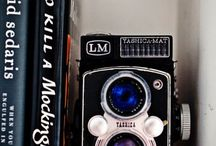 Beautiful vintage cameras / There is just something about them that I love! / by Rosie McCarthy