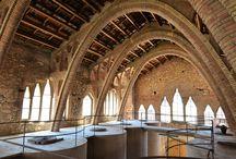 Wijnkathedralen Tarragona / Wijnkathedralen, catedral del vi, wijnhuizen en bodega's in de Catalaanse provincie Tarragona en soms daarbuiten.