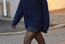 winter jurk /rok outfit