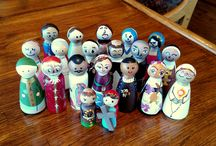 Catholic Peg Doll Saints / Links/resources to have a swap in future