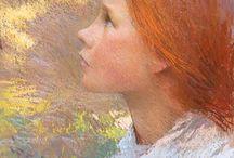 Pastels Paintings