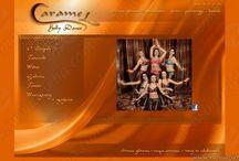 Web Layout / www.carameldance.com / Web Layout / www.carameldance.com