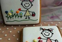 Decorated biscuits CP