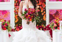 Тематическая свадьба ( акварель)