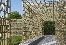 OUTDOOR | Fence, screen, divide / by Designet Team