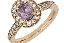 Coloured Gemstone engagement rings / Gemstones