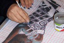 Schegge di colore - sabbie / Produzione personale di tutto ciò che ho realizzato impiegando le sabbie colorate