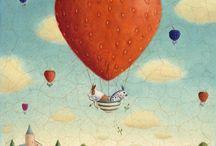 Palle palloni e mongolfiere
