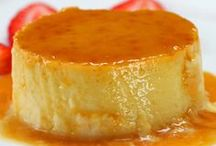 Flan Recipes [ custard ] / This easy creamy flan recipe dessert is one of my favorite from Puerto Rico's island indulgences. Find your favorite and surprise your dinner party guests. Collection by www.chefzoerodz.com