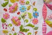 Aplicaciones y Costuras / costuras hermosas y aplicaciones en tela que hacen que cambien las prendas de una manera total ademas un poco de patchwork  y algo más ...... a trabajar se ha dicho. / by Evangelina Zarate Contreras