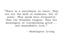 Sadness and pain