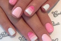 new ideas for nails / our nail technicians here at Whit's End Salon & Spa love to try new ideas!