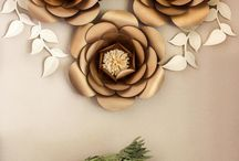 Giant Paper Flowers and more flowers