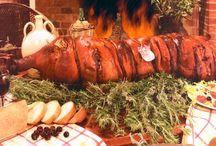 La Porchetta / Carne di Suino, sale, rosmarino, pepe, aglio sono gli ingredienti della Porchetta Paglizzi prodotta e distribuita da Cibare Puglia