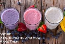 Smoothie / Healthy and quick smoothie for weight loss, breakfast, lunch, dinner, muscle gain and so...