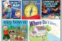 geography and globe skills / books