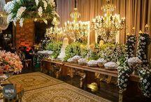 Casamento Giselly e André (Espaço Meet) / Decoração MATTERFLORIS  @matterflorisoficial  Site: www.matterflorisoficial.com.br  insta pessoal: @santosalvess