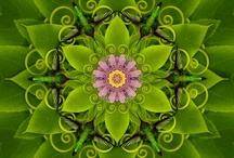 Art - Mandalas and Kaliedoscopes / by Kay Hough