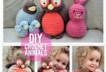 Crochet toys / by Carrie Cook