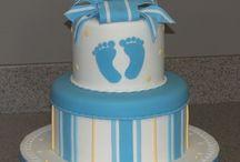 Baby shower ve doğum odası için pastalar