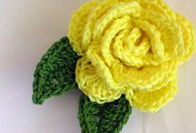 Crochet Flowers, Leaves, and Plants / Flowers, Leaves, and Plants