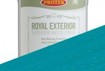Protek Royal Exterior Finish / Royal Exterior is a high-grade water-repelling timber treatment that contains a mould inhibitor to protect the coating. It is perfect for use on all softwood and hardwood products such as windows, doors, summerhouses, gates, cladding and garden furniture. Royal Exterior wood finish is low in odour and with low volatile organic compounds. The unique formulation is a water-based acrylic and alkyd hybrid that incorporates a polyurethane dispersion based on linseed oil - a renewable resource.