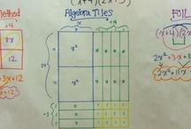 Factoring alge tiles