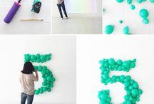 decorando con globos