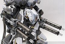 Roboti, Zbraně, Concept art