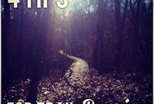 trail running / by Janay Henry