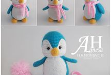pinguim de croche
