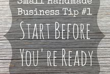 Business | Entrepreneurship  / I started my own handmade small business and I have so much to learn! / by Ann @ Duct Tape and Denim