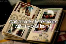 Bucket List/To do in life