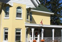 Our B&B: The Victorian Inn / Our cozy Victorian B&B in Midland, Ontario, Canada