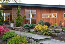 farm house:  curb appeal