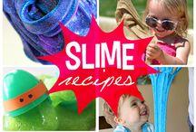 Goo, slime and playdoh
