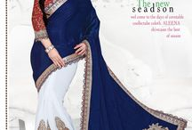 Designer Half Sarees / Designer Half Sarees at affordable prices- luxyee.com